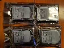 Lot of 4 Seagate Constellation ST91000640N 1TB 7.2K SATA 6Gb/s Enterprise 2.5""