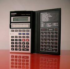 CASIO PB-220 Personal Computer 1986 Basic Vintage Calculator CALCOLATRICE