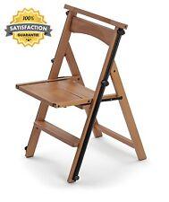 Folding Arredamenti Italia Eletta The Ladder Chair, Finishing Cherry Wood.