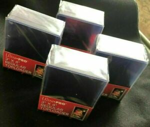 35pt Ultra PRO Regular 100 Count 3X4 Toploaders Top Loaders NEW 4 Packs of 25