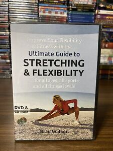 Brad Walker Ultimate Guide to Stretching Flexibility DVD CD ROM NEW