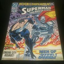 DC Superman No 26 Reign Of The Supermen- Men Of Steel