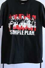Simple Plan 2005 Canadian Tour T-Shirt (Medium)