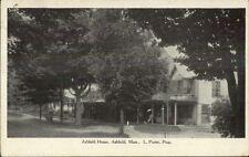 Ashfield MA Ashfield House c1910 Postcard