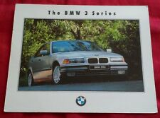 BMW 318i 3 SERIES LIMITED EDITION 1990 6x4 PHOTO CARD L&C BMW TUNBRIDGE WELLS #1