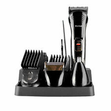 KEMEI Men 7 IN 1 Grooming Kit Cordless Body Hair Clipper Beard Trimmer Electric
