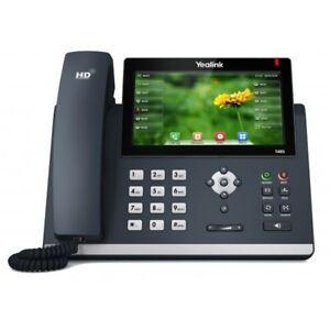 "YEALINK SIP-T48S ULTRA-ELEGANT GIGABIT IP PHONE 7"" DISPLAY"