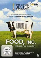 Food, Inc. - Was essen wir wirklich? von Robert Kenner   DVD   Zustand gut