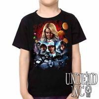 Stranger Things  - Kids Unisex Girls and Boys T shirt Tee Clothing