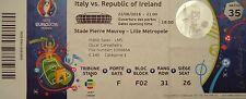 TICKET UEFA Euro 2016 Italy vs Ireland Match 35