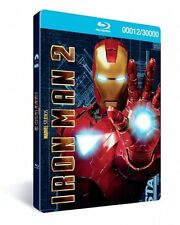 Iron Man 2: 3-Disc Combo Pack DVD/Blu ray Numbered 11245 Steelbook & 3D Cover