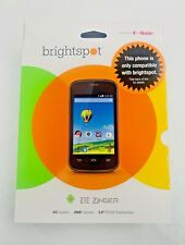ZTE Zinger 4G Smartphone (Brightspot Powered by T-Mobile)