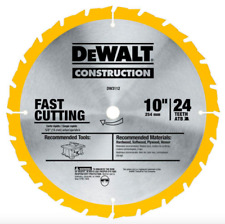 DEWALT 10 inch 24 Teeth Circular Power Tool Table Miter Saw Blade Wood Cutting