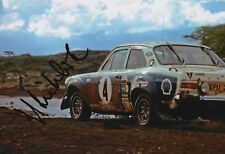 Hannu Mikkola Hand Signed 12x8 Photo Ford Rally 5.