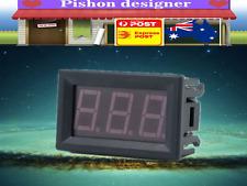 """0.56"""" LCD Blue LED Panel Meter Digital Voltmeter Alternating Current AC 25-400V"""