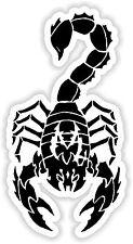 Skorpion Sternzeichen-Tierkreiszeichen Aufkleber Motorrad Tank Helm Bike #04