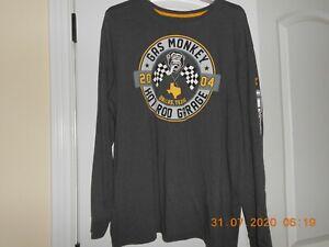 "Men's L/S Shirt ""Gas Monkey Hot Rod Garage"" Size 2XL  NICE!"