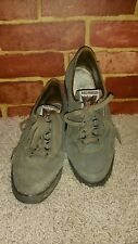 MEPHISTO AIR JET SPORT SHOES MEN'S GRAY LEATHER SUEDE SIZE 6.5M 2236