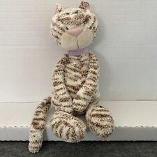 """Adorable Jellycat Jelly Miaow  Bella Mocha Plush Stuffed Animal Cat 14"""""""
