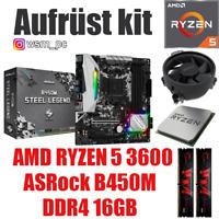 PC Bundle Kit Set ❤ AMD Ryzen 5 3600 ✔ B450 Mainboard ✔ DDR4 16GB 3000 ✔