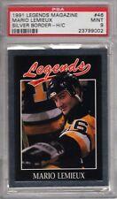 Mario Lemieux 1991 Legends Magazine PSA 9  PENGUINS  RARE  Only 1 Graded  Hockey