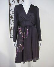 ALTUZARRA FOR TARGET NWT LONG SLEEVE DRESS SIZE 8 PURPLE FLORAL