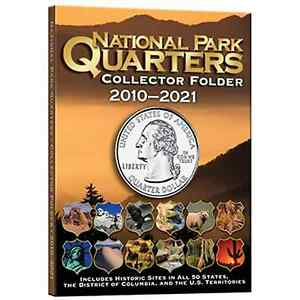 Whitman Coin Folder 2883 National Park Quarters 2010-2021  Album / Book  25 cent