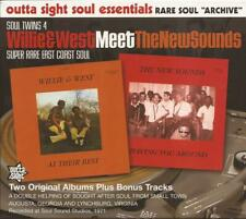 The New Sounds Meet Willie & West ( CD 2011 ) 2 Rare Soul Albums NEW / SEALED
