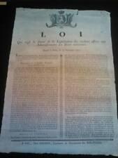 Bando rivoluzione Francese 1790 Révolution française Appel 1790