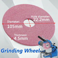 Electric Saw Blade Grinding Wheel Grinder Disc for Chainsaw Sharpener 105mm 3/8""