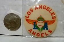 VINTAGE LA ANGELS PIN - LOS ANGELES ANGELS WITH  WINGS - USED EX COND