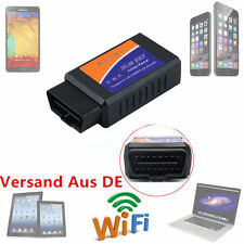 WIFI ELM327 Wireless OBDII Auto Scanner Adapter Scan Tool for iPhone iPad YU