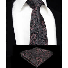 Cravatte e papillon da uomo grigie dal Regno Unito