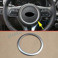 Chrome Steering Wheel Ring Cover Trim For Kia Sportage QL 2016 2017 Accessories