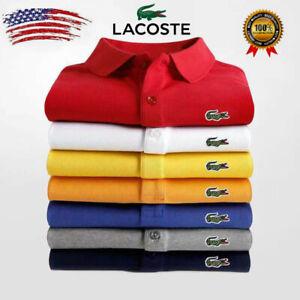 2021 Trendy Fashion Men and Women Retro Short Sleeve Polo T-Shirt  Golf T-Shirt