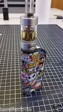 Sticker Cover sticker bomb IPV Mini 2 70w pionner 4you Black ipv2 BOX Mods skins