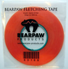 FLETCHING TAPE, attach feathers for Longbow Arrows and metal arrows, Bearpaw