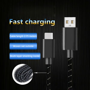 USB Cable Type C Fast Charger Cord For Xbox Series X S/PS5 Controller Switch