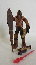 Star Wars Brown WOOKIEE WARRIOR Battle of Kashyyyk action figure ROTS #43