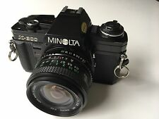 Minolta X-300 Film Camera & Miranda 24 mm F2.8 Objectif grand angle-Superbe Cond.
