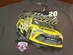 MATT KENSETH #20  Joe Gibbs Racing  Nascar T Shirt  2XL  XXL  New    G8