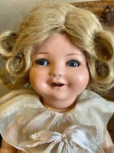 """21"""" Antique German Composition Rare Orsini Doll Dressed In Original Outfit"""