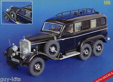 MERCEDES G 4 RADIO, Kit résine PLUS MODEL 1/35 - Réf. 195