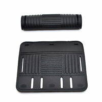 Black Rubber Strap Hand Handle Cover Protector Travel Bags Cases