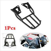 Universal Motorcycle Rear Shelf Refitted Box Tail Fin Luggage Rack Metal Black