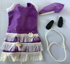 Vintage Sindy doll Mam'selle  Hello Dolly dress with headband and shoes