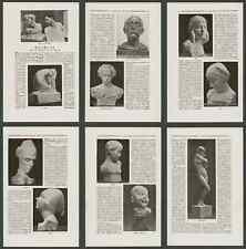 Préserver Biographie sculpteur Carl Gelles sculptures en plastique art Vienne 1925