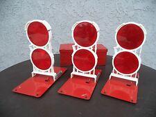 Vintage Anthes Model FP-M Highway Reflector Kit - Set of 3 w/Case (#1474)