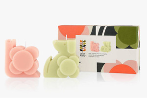 Orla Kiely Moulded Dog and Snail Candle Gift Set 200g 2020
