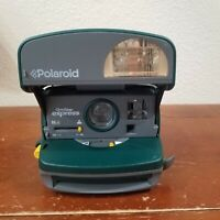 Polaroid One Step Express Instant 600 Film Camera GreenUNTESTED PARTS ONLY